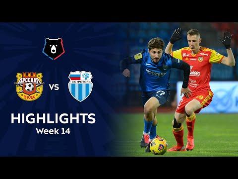 Arsenal Tula R. Volgograd Goals And Highlights