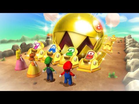 Mario Party 9 Boss Rush - Mario Vs Luigi Vs Yoshi Vs Wario (Master Cpu)