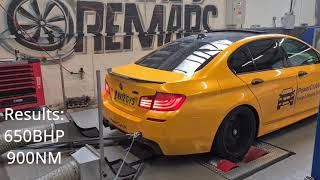 F10 BMW M5 Stage 1 Remap & Dyno Package (with pops n bangs) - Certified Remaps