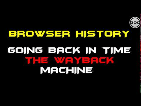 Internet Archive Wayback Machine | Exploring The Past | Browser Tricks | Gangs Of Coder | 2017