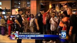 Horseshoe Casino opens to capacity crowd in Baltimore