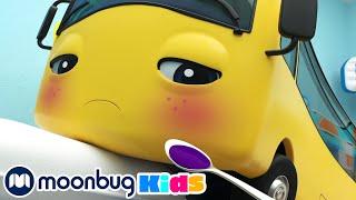 Бастер Заболел Автобус Бастер Go Buster Moonbug Kids