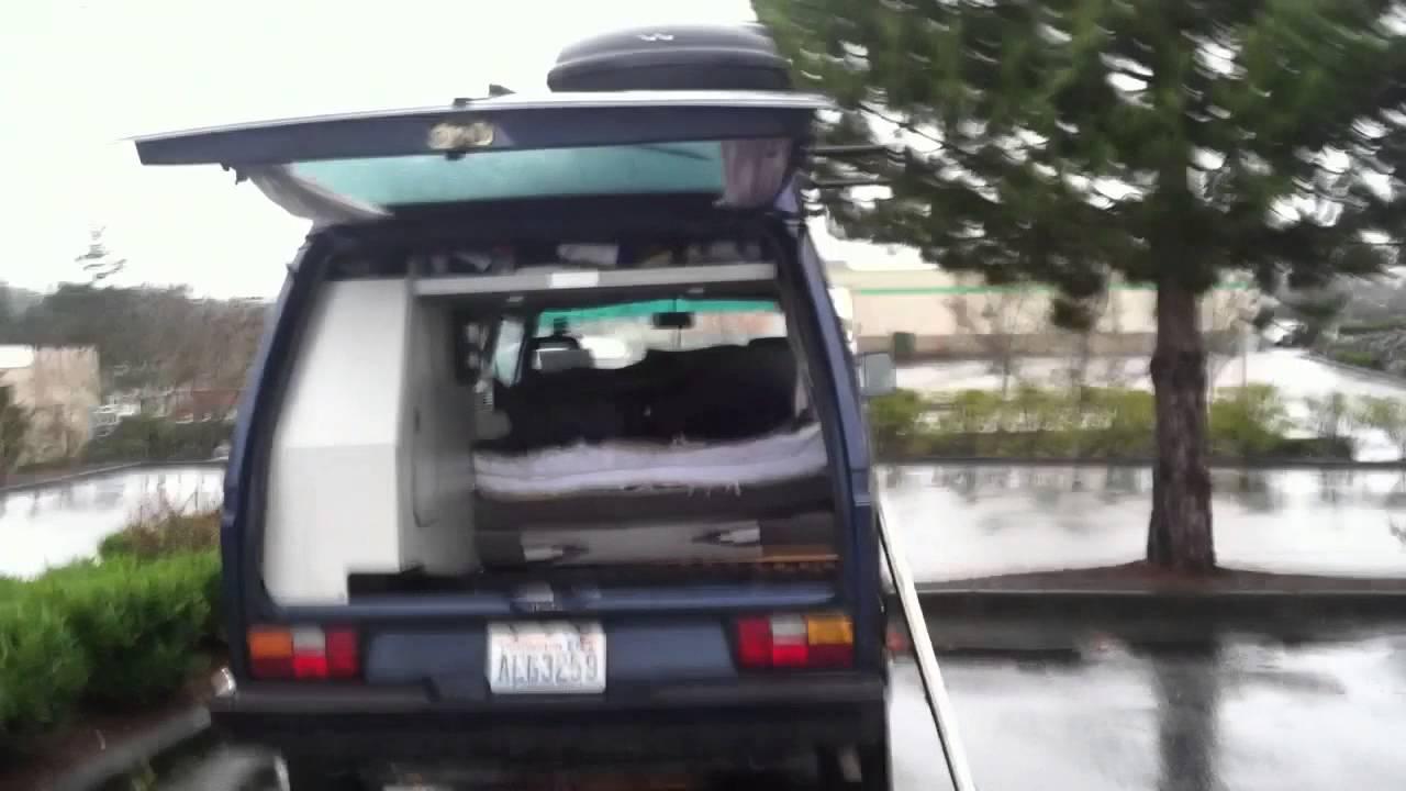 Living The Van Life - The Subaru Conversion