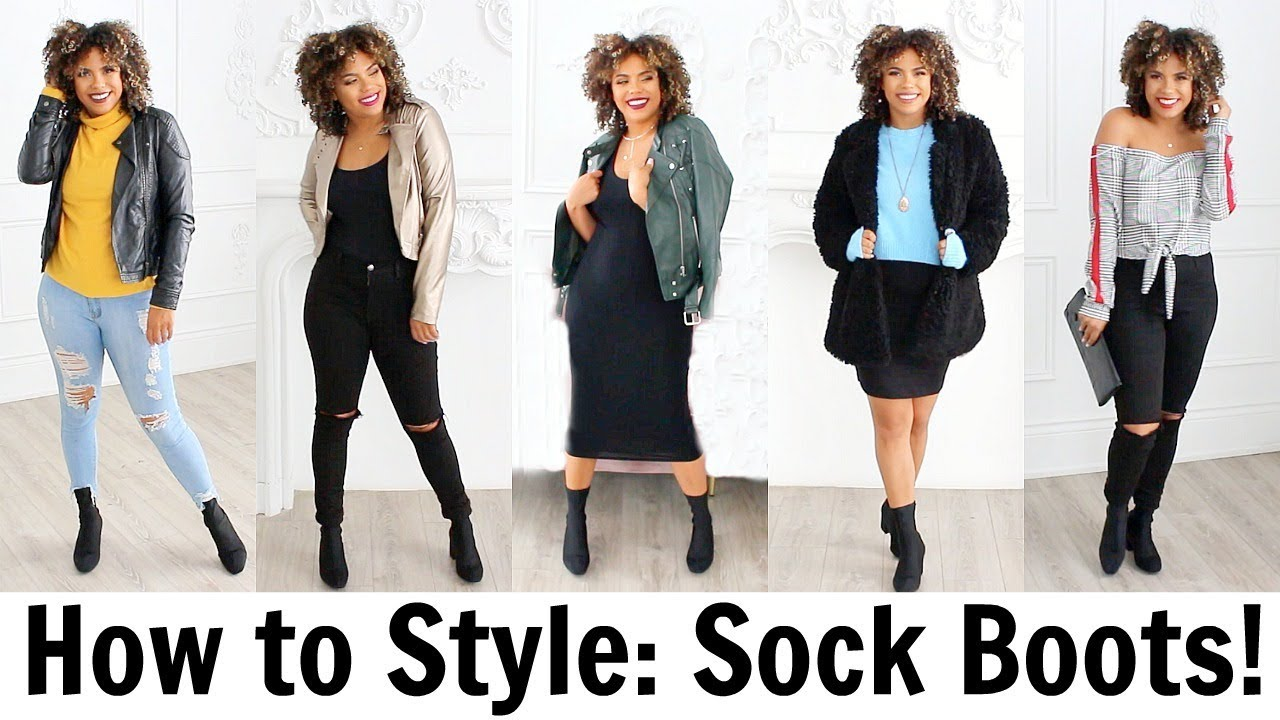 hot sale online los angeles great quality How to Style Sock Boots on a Budget! All under $60!