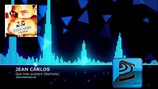 JEAN CARLOS`- Que mas quisiera - Bachata - Pista musical karaoke DEMO - CALAMUSIC