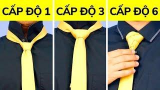 6 Cách Đơn Giản Nhưng Vô Cùng Hay Ho Để Thắt Cà Vạt
