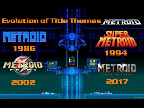 Evolution of Title Themes 1986-2017 (Metroid)