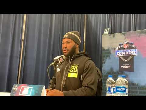 Utah RB Zack Moss Interview At 2020 NFL Combine