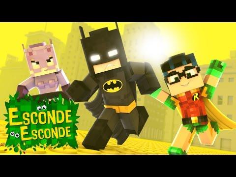 Minecraft: LEGO BATMAN! (Esconde-Esconde)