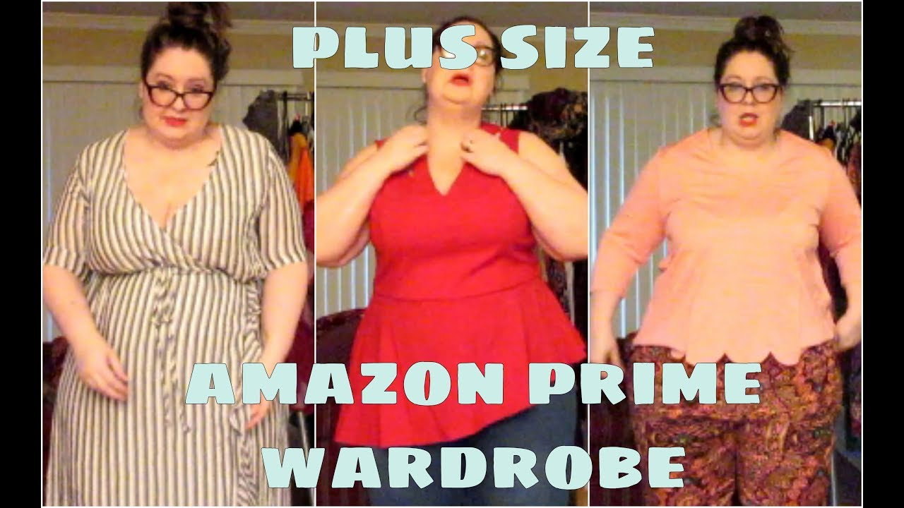 ed02ed5a61d Plus Size Amazon Prime Wardrobe Haul and Try On - YouTube