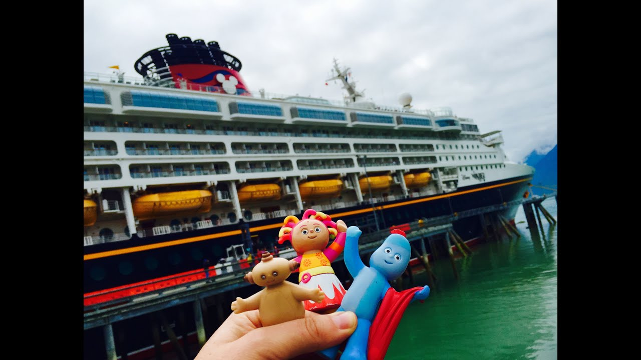 IGGLE PIGGLE MAKKA PAKKA And Upsy Daisy Toys Arrive At Disney - Toy disney cruise ship