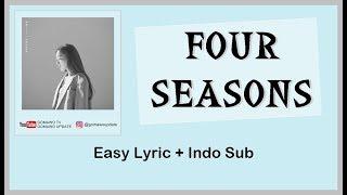 Download Easy Lyric TAEYEON - FOUR SEASONS by GOMAWO [Indo Sub] Mp3