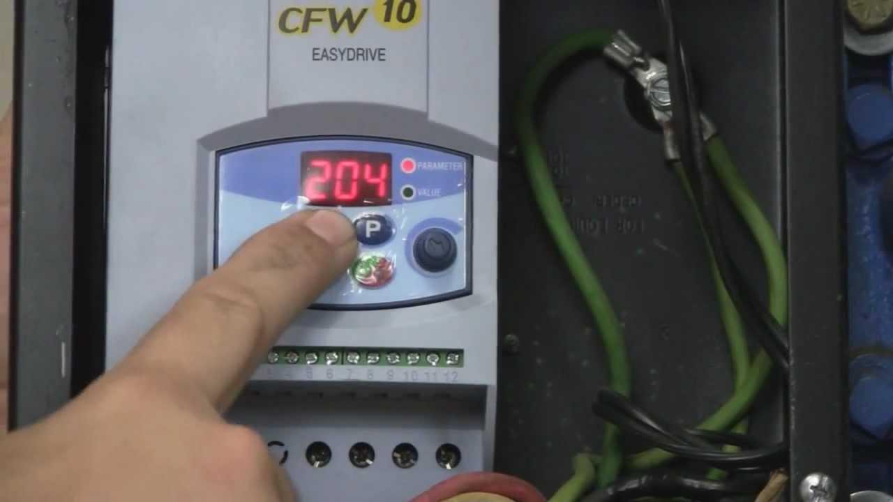 WEG VARIABLE FREQ DRIVE CFW701A10P0T2DBN1C3 FOR 3 HP 200-240 VAC 3-PHASE#