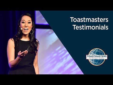 Toastmaster Testimonials