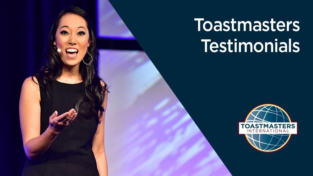 Toastmasters Testimonials