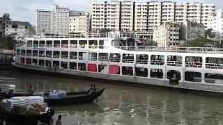 ঢাকার শতবর্ষী নৌ ঘাট শুধু দেখতেই মন চায় !Dhaka Lanch Ghat|| Amazing scenario in Shadarghat.part 01