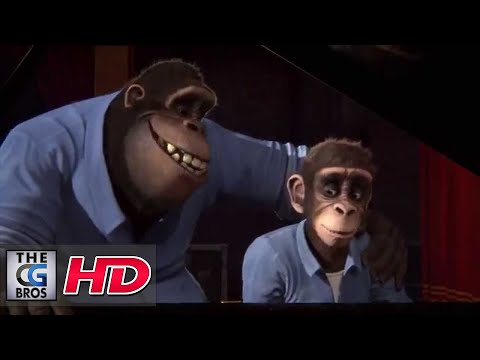 "CGI 3D Animated Short ""Monkey Symphony"" - by ESMA"