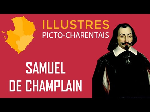 Illustres Picto-Charentais : Samuel de Champlain