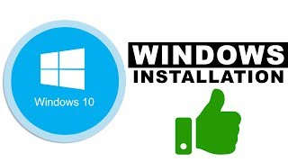 WINDOWS 10 INSTALLIEREN (2018) | VON CD, DVD, USB mit KEY | Deutsch / German