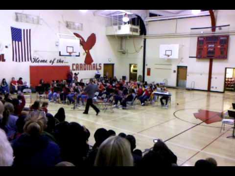 Northwood Middle School Winter Concert (2) VID_20101207_183250.3gp