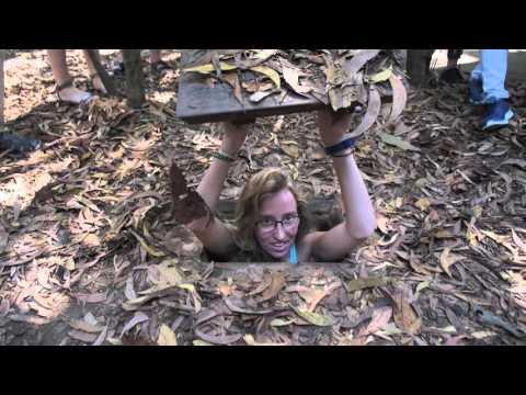 Trappe vers les tunnels de Cu Chi - Vietnam