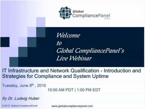 IT Infrastructure and Network Qualification