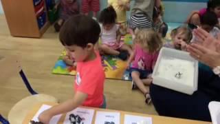 Ice floe topic in French classes Blossom Burj in Dubai