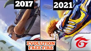 Evolution Of Free Fire  Free Fire Old Gameplay Season 1 vs Free Fire 2021