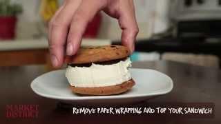 How to Make an Easy Ice Cream Sandwich!