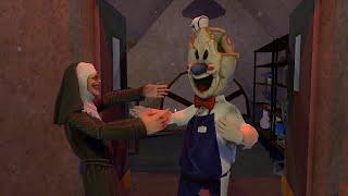 Мороженщик 4 Против Злой Монашки 2 | Монашка вернулась к своему сыну Роду смешная анимация часть 158