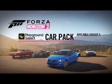 Forza Horizon 2 - Playground Select Car Pack Trailer