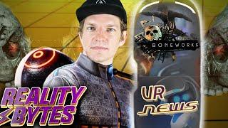 VR so realistisch wie nie: Boneworks + PS VR 2 | Reality Bytes #20 mit Krogi, Sandro & Bella