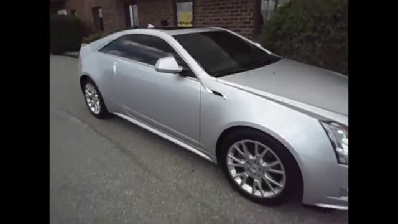 2013 Cadillac Cts Coupe With 3m 15 Window Tint On All