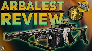 Arbalest Exotic Review The First Special Linear Fusion Rifle  Destiny 2 The Revelry