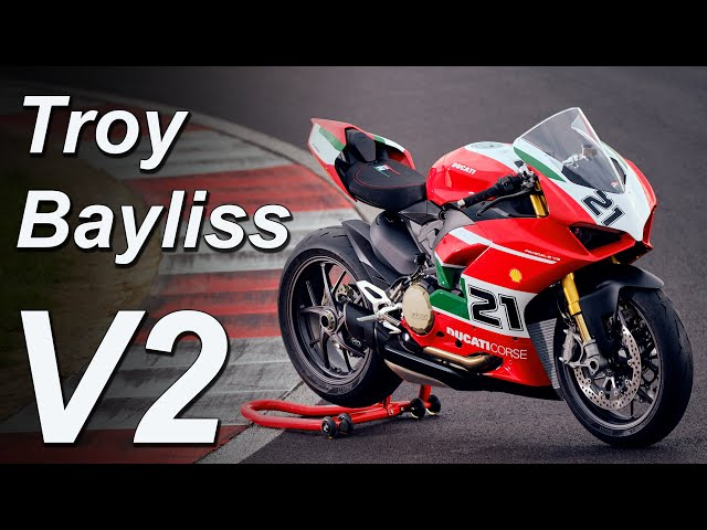 2021 Ducati Panigale V2 Troy Bayliss Edition   Model Overview   Pricing & Availability