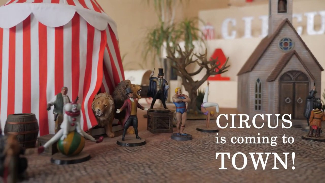 Circus is coming to town!