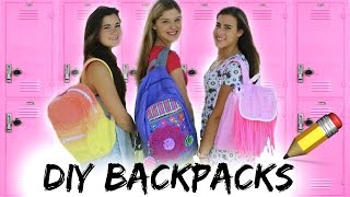 Back to School: DIY Backpacks + Giveaway! Thumbnail