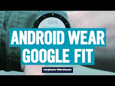 How to use Google Fit on Android Wear - YouTube
