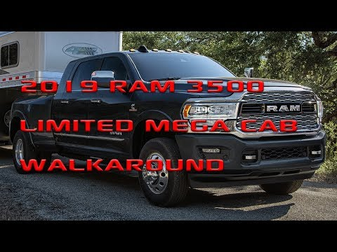 2019 Ram 3500 Mega Cab Dually Limited quick walkaround - HDRams com
