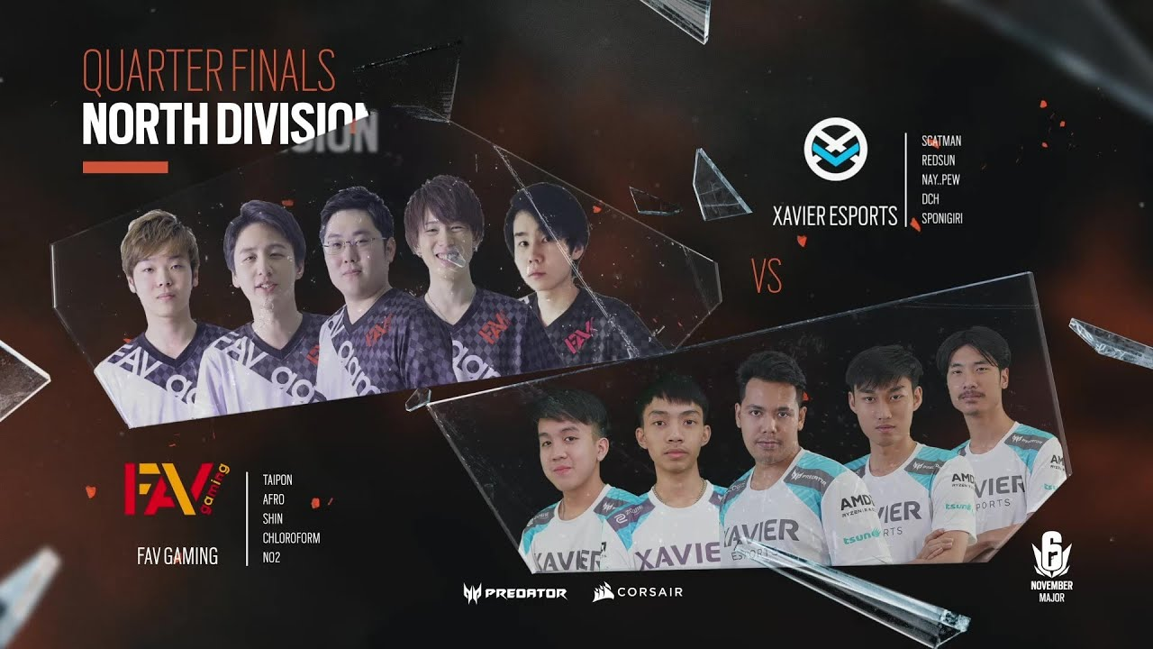 FAV Gaming vs Xavier Esports // November Six Major 2020 – North Division Quarter Final