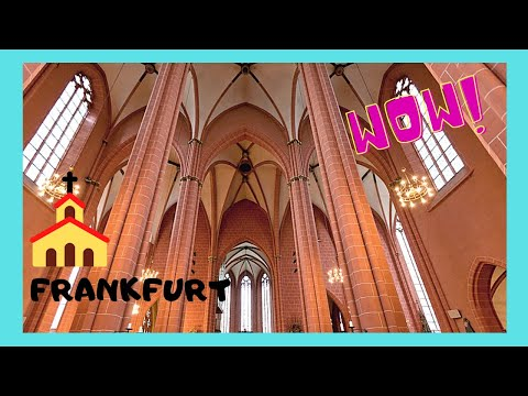 FRANKFURT: Inside the magnificent CATHEDRAL (GERMANY)