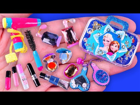 30-diy-miniature-barbie-makeup-kit~-lipstick,-eyeshadow-palette,-mascara,-hair-clip-and-more