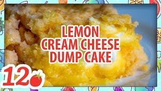 How to Make: 4-Ingredient Lemon Cream Cheese Dump Cake