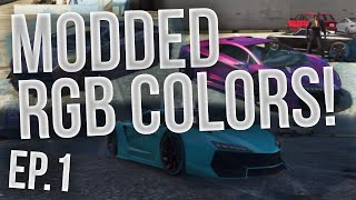 GTA Online: Modded RGB Colors! - 3 Awesome Colors! - Episode 1 (HD)