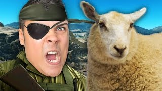 Extracting the Little Lost Sheep... Metal Gear Solid 5 The Phantom Pain MGS V