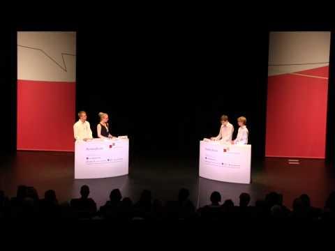 Jugend debattiert Bundesfinale 2013 - Debatte der Altersgruppe 1