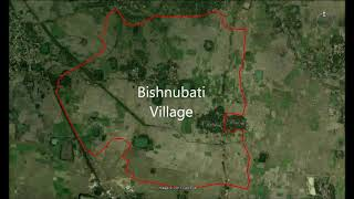 Bishnubati Village, Bolpur District (Shantiniketan), West Bengal - Satellite Transect