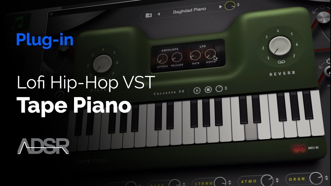 Download Thenatan Tape Piano VST v1 0 + Expansion [WIN x64