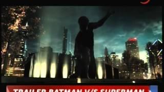 FILM BATMAN VS SUPERMAN ESTRENAN PRIMER TRAILER PROXIMO ESTRENO MARZO 2016 CHVNOTICIAS 20 04 2015
