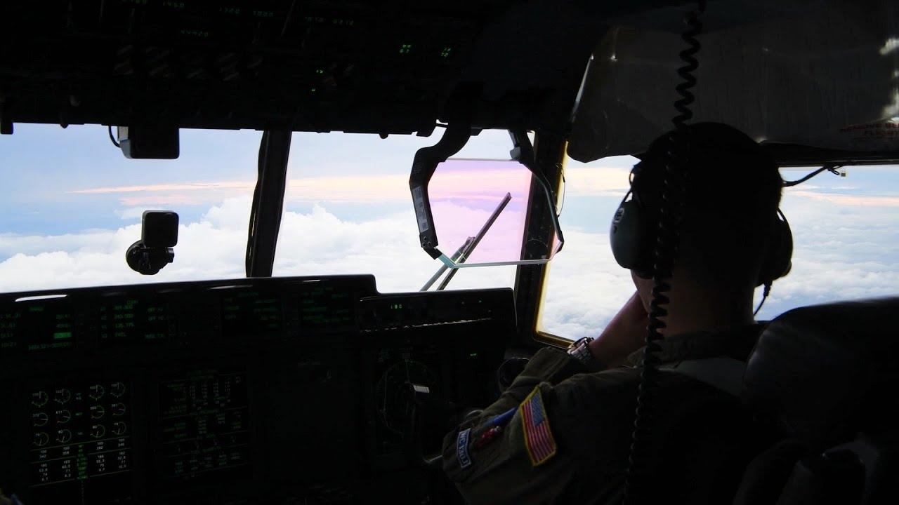 Hunters Fly Hurricane Laura